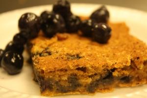 Sweet Potato-Blueberry Oat bar
